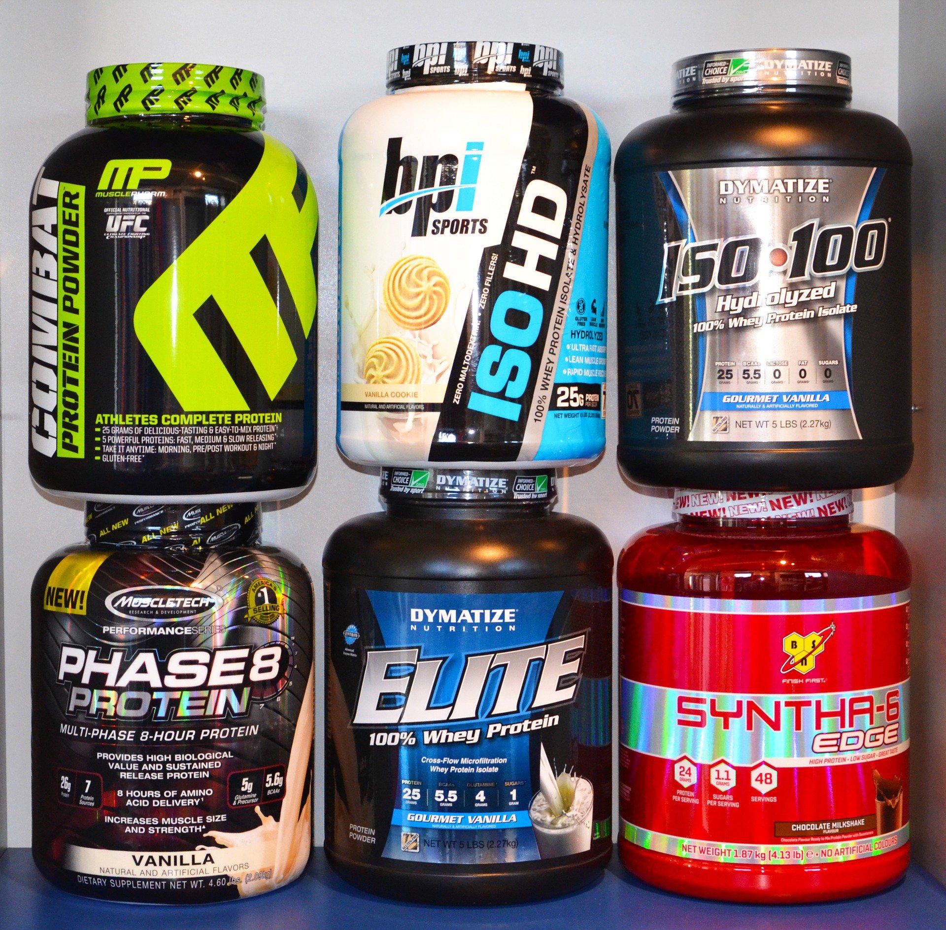 proteinas y suplementos para aumentar masa muscular