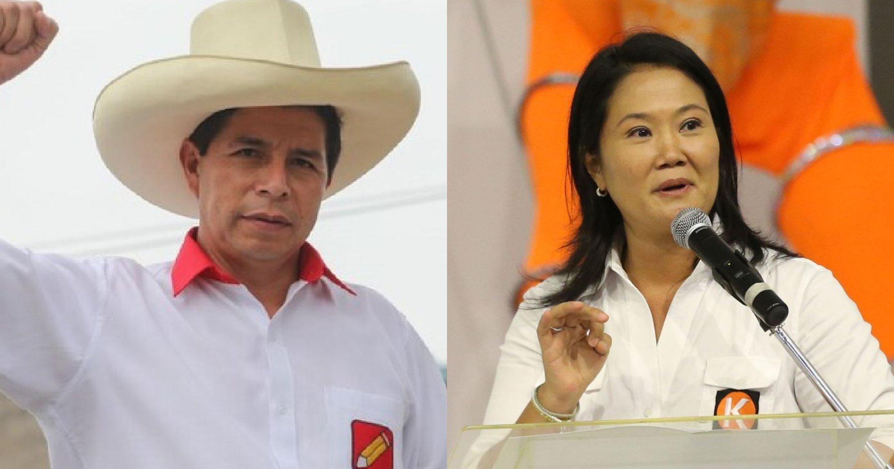 Segunda vuelta: Fujimori y Castillo pelearán la presidencia de un país  colapsado - Salud con lupa