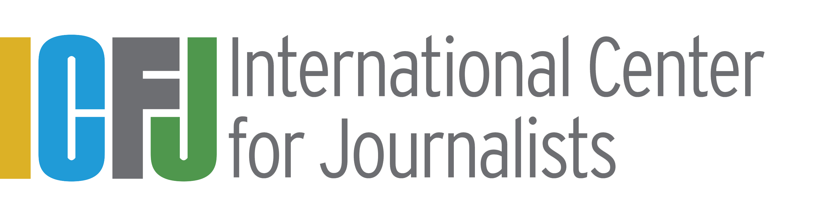 Logo de International Center for Journalists